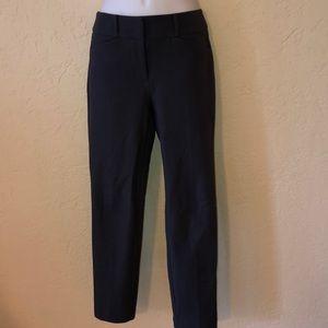 LOFT dark gray Marisa skinny pants- 2 like new!